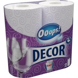 Ooops! Decor (110 ½ lap) – Háztartási papírtörlő (2 rétegű)
