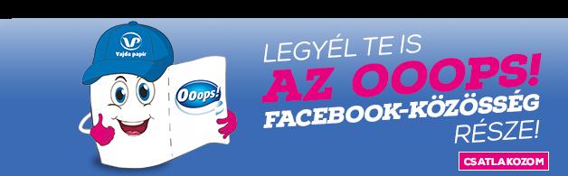 Csatlakozz az Ooops! Facebook oldalához te is!