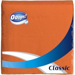 Ooops! Classic – Szalvéta narancs (1 rétegű)