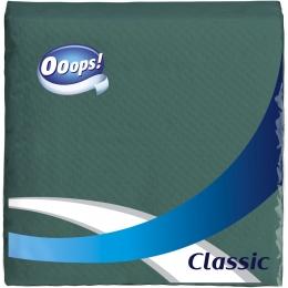 Ooops! Classic – Szalvéta zöld (1 rétegű)
