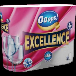 Ooops! Excellence (75 lap) – Háztartási papírtörlő (3 rétegű)